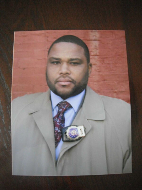 Anthony Anderson Law & Order Color 8x10 Promo Photo Picture