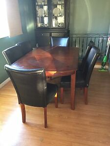 Dinning Table , with 6 chairs