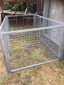 Trailer cage 7x4  900 mm high used Rosebud Mornington Peninsula Preview
