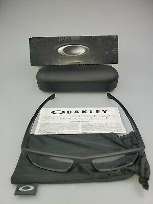 AUTHENTIC Oakley OX8046-0157 Airdrop Satin Black Eyeglasses Frames 57-18-143 NEW