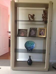 Display Shelf with Glass shelving - Great Condition ! Dandenong Greater Dandenong Preview