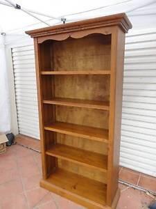 Timber bookcase Beverley Park Kogarah Area Preview