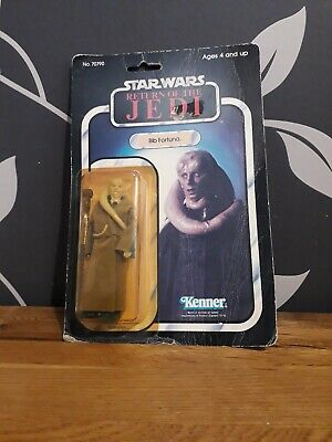 STAR WARS RETURN OF THE JEDI VINTAGE BIB FORTUNA 1983