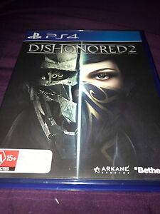 Dishonered 2 PS4 Traralgon East Latrobe Valley Preview