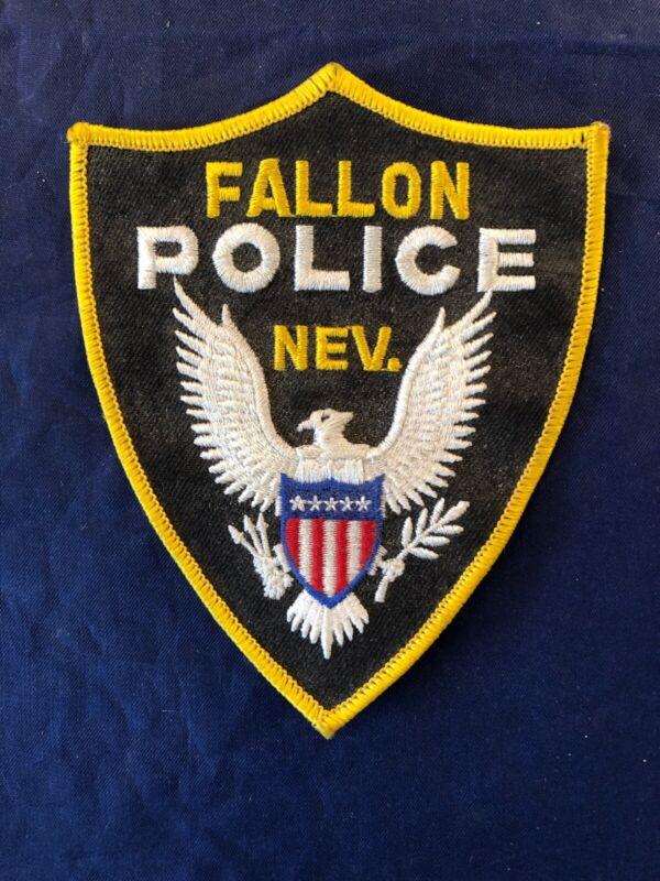 FALLON, NEVADA POLICE SHOULDER PATCH NV