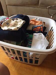FULL BABY-BOY CLOTHES BOX mix