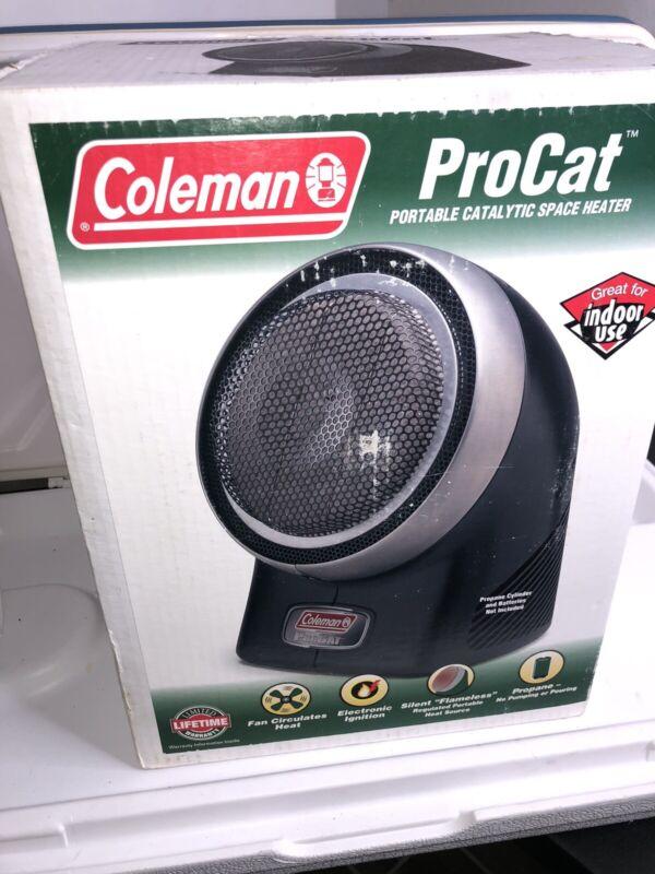 COLEMAN Procat Model 5053 Portable 3,000 BTU/H Catalytic Heater In box.