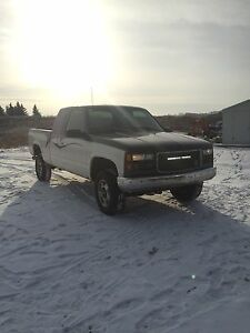 1996 Chevy 4x4 trade for dirtbike