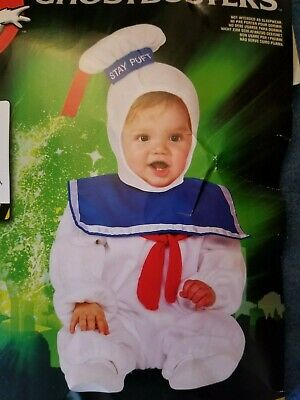 Toddler Stay Puft Marshmallow Man Costume (Ghostbusters STAY PUFT Marshmallow Man Costume Toddler)