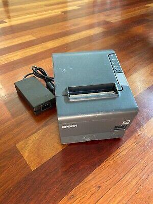 Epson Network Thermal Pos Receipt Printer Tm-t88v M244a W Ac Adapter