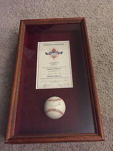 Authentic Joe Carter Baseball