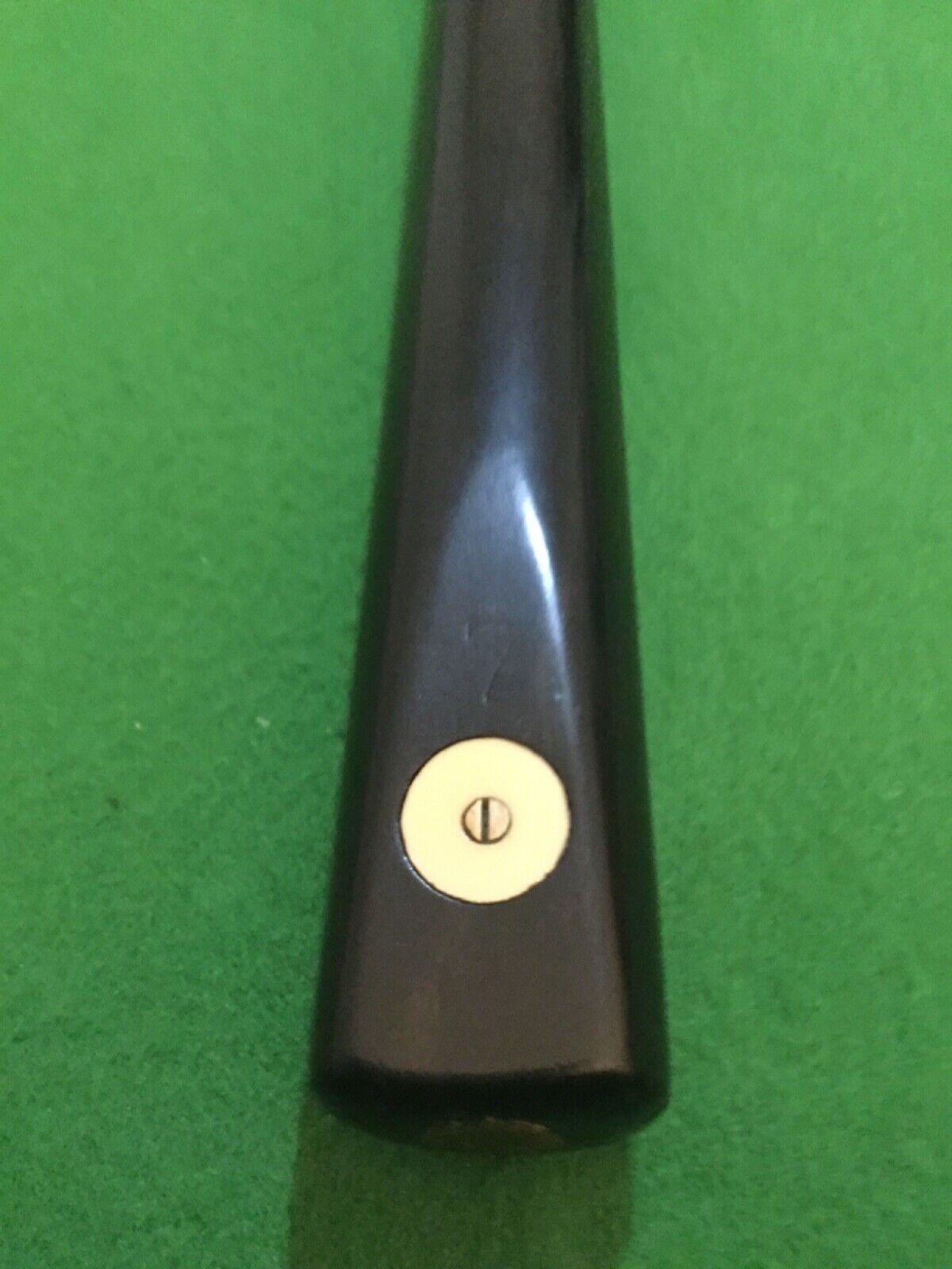 Vintage Riley No.7 1 piece Maple cue fully refurbished by Dave Brown (Craftsman)