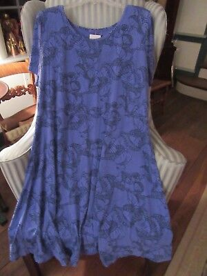 "NWT FRESH PRODUCE100% COT  ""DAYBREAK""  DESIGN - SADIE STYLE DRESS ON PERI..(2X) for sale  Shipping to India"