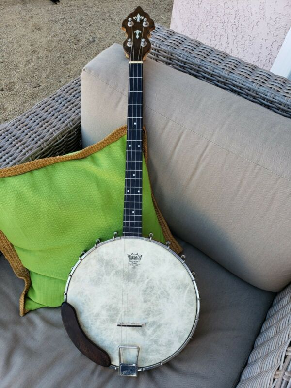 "Antique Vintage Weymann & Son ""Keystone State"" Tenor Banjo c. 1925 Model 140"