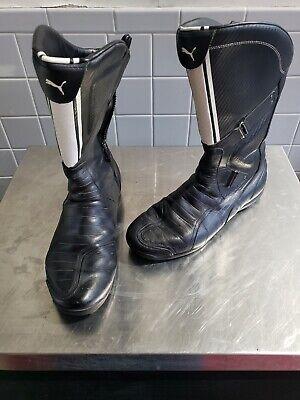 Ducati Puma Boots Men's size 12 Puma Black/White