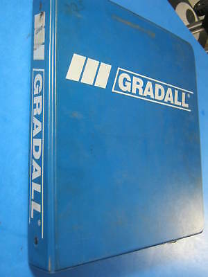 Gradall G3wd Combined Master Parts Catalog 7739-4007 1999