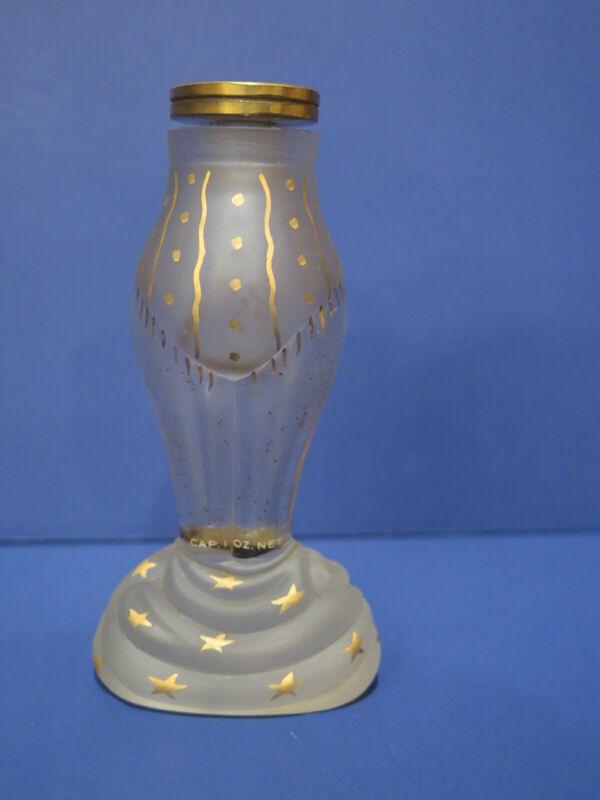 Vintage Schiaparelli ZUT Glass Bottle