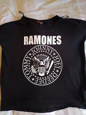 Ramones used women's shirt Joey Dee Dee Tommy Johnny L