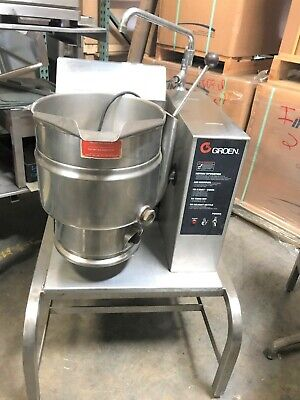 Groen Tdh-20 20 Quart Gas Countertop Steam Jacketed Kettle