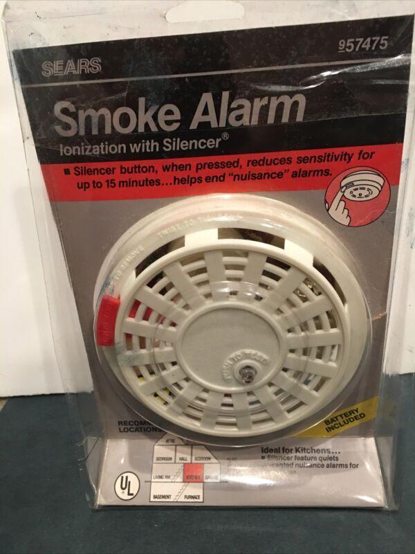 Sears Smoke Alarm 957475 Vintage