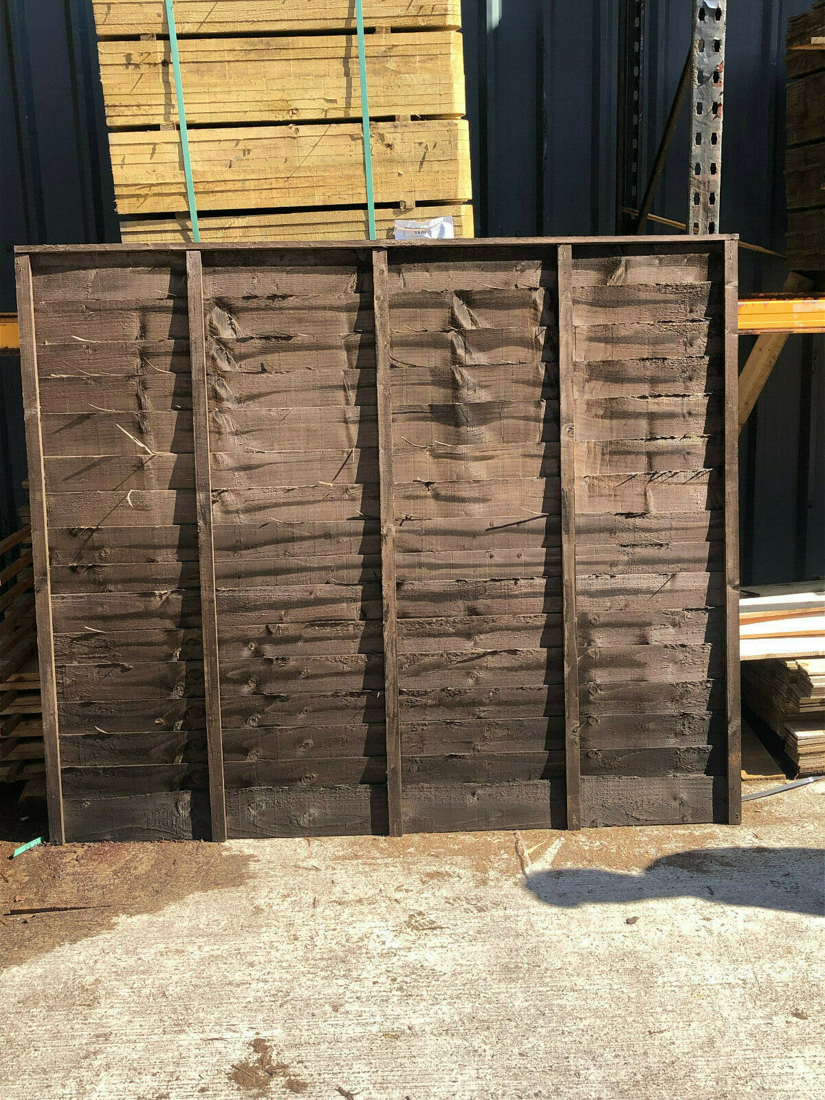 garden fence - 6 x 3 Budget Over lap Garden Fence panels