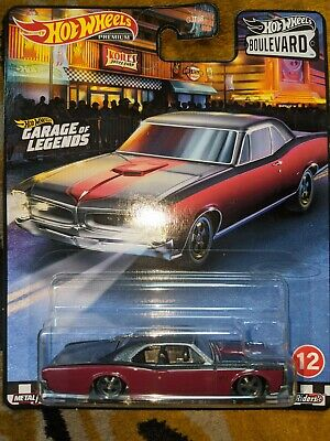 2020 HOT WHEELS BOULEVARD '66 PONTIAC GTO GARAGE OF LEGENDS REAL RIDERS RARE NEW