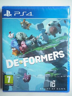 DeFormers Jeu Vidéo PS4 Playstation 4