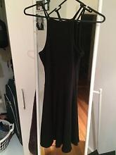 Casual Black Dress with High Neckline Edgecliff Eastern Suburbs Preview