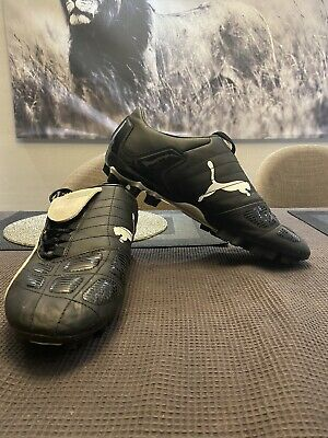 Mens Puma Retro Football Boots Size UK 11