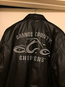Brand New Authentic Orange County Choppers Leather Jacket