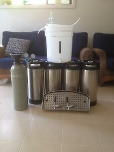 Complete kegerator beer keg fridge system. $550 ono Gosford Gosford Area Preview
