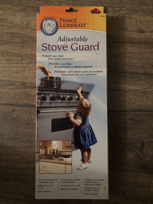 NEW Prince LionHeart STOVE GUARD adjustable Baby Safety Protection Kid Safe