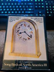 Howard Miller Song Birds of North America III Table Clock Musical # 645-405