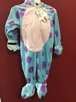 Disney Sully Monsters Inc. 3-6 months Children Costume NEW - Kids Monsters Inc Costume