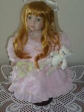 Porcelaine Collectable Doll -  High Quality - Very nice ! Surf Coast Preview