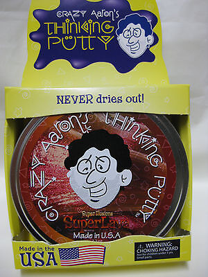 Super Lava Super Illusions Crazy Aarons Thinking Putty Large 4 Inch Tin 3 2 Oz