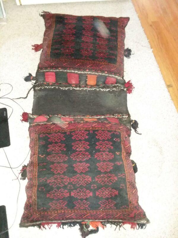 Large Mideastern Saddle/Camel Bag