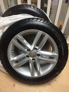 REDUCED -(4) Marangoni Tires and Audi Rims