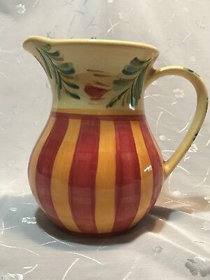 SIENNA Gail Pittman - Southern Living At Home - Pitcher - Hand Painted