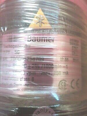 Hubner Gefran Baumer Amicon Dc Tachometer Apy-50 50vdc Flange Mount New