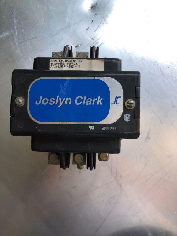 joslyn clark contactor 180Amp 500vdc