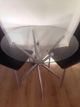 Glass table and 2 chairs $80 Burwood Burwood Area Preview