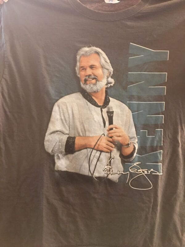 KENNY ROGERS T-SHIRT 2XL GRAY