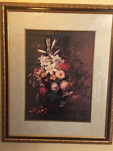 Gold frame with Art