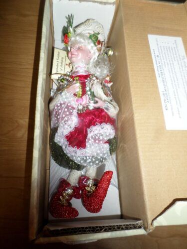 "New Mark Roberts Christmas Jewel 9"" Small Girl Fairy 51-85948"