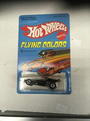 Hot Wheels Flying Colors Formula P A C K Unpunched