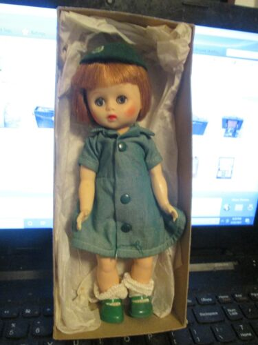 """VINTAGE OFFICIAL GIRLSCOUT DOLL - 8 """" - HARD PLASTIC WITH VINYL HEAD"""