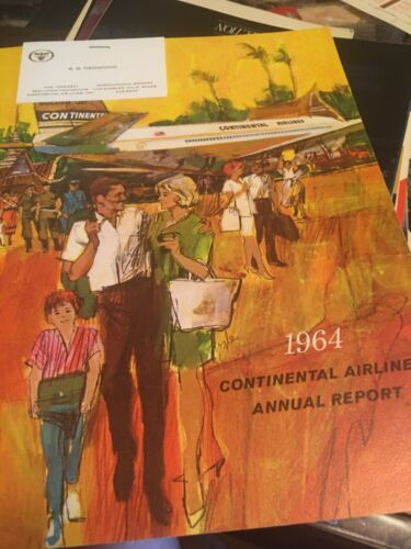 Continental Airlines 1964 annual report