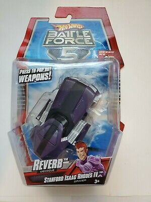 Hot Wheels Battle Force 5 Reverb Toy Car  Mattel