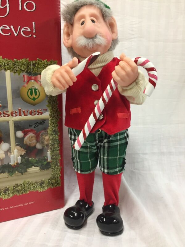 "Zim's The Elves Themselves ""Milton""Christmas Elf 1999 Retired"